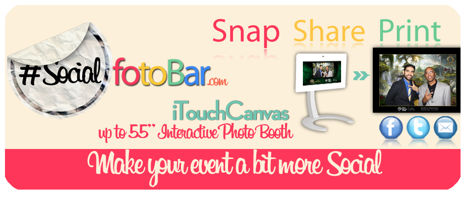 Interactive Social Media Photo Booth